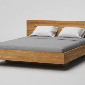 Tables and Trolleys Solid wood King Bed - (6ft x 6.5ft) with Side Table