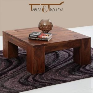 Tables and Trolleys - Coffee Table - Light Walnut