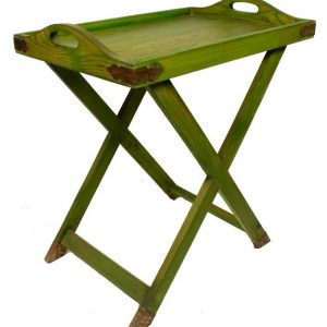 Tea Trolley - Dettachable Tray Top - Single Portion - Green