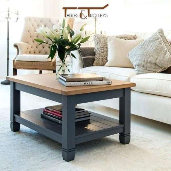Tables and Trolleys - Coffee Table - Matte Black