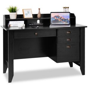 Computer Desk PC Laptop Writing Table Workstation Student Study Furniture-Black