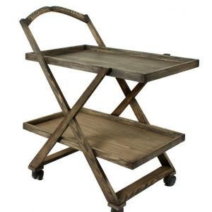 Tea Trolley – 2 Portions – Khaki