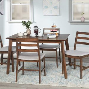 Tables and Trolleys - Simple Living 4-Piece Dining Set
