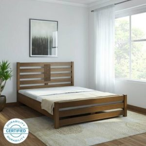 High Quality Solid Wood Queen Bed