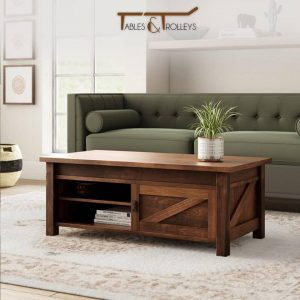 Tables and Trolleys – Coffee Table – Dark Brown