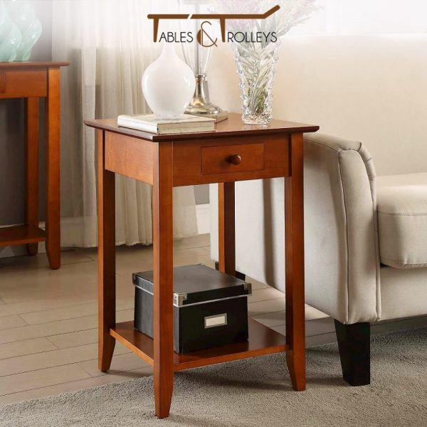 Tables and Trolleys - End Tables - Brown