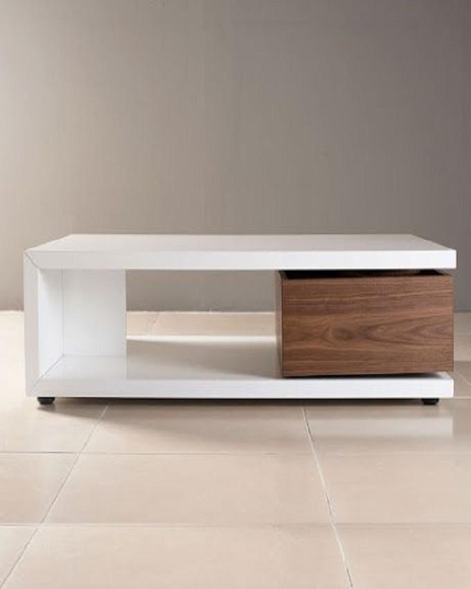 Modern Coffee Table - White