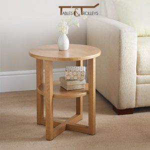 Tables and Trolleys - Side Table - Brown