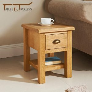 Tables and Trolleys - End Table - Brown