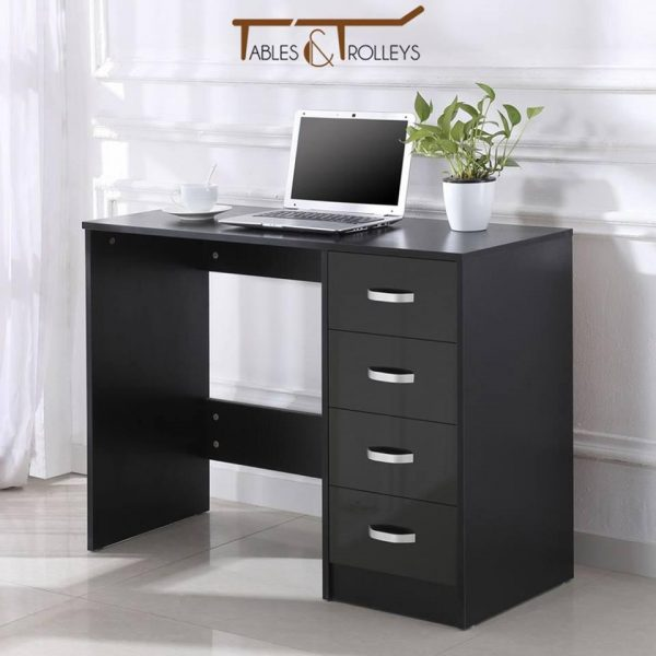 Tables and Trolleys - Office Table - Brown