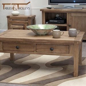 Tables and Trolleys - Coffee Table - Brown