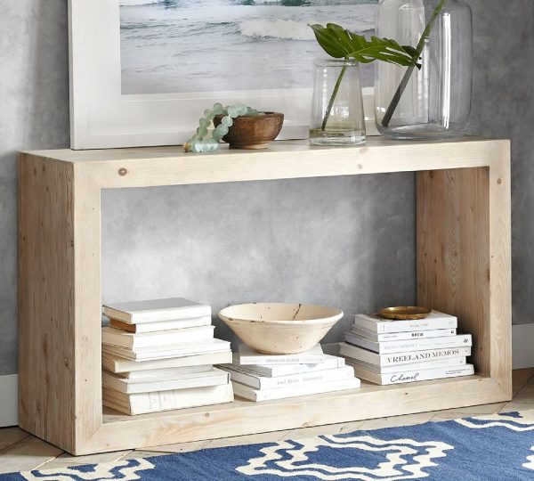 Tables and Trolleys - Console Table - Beige