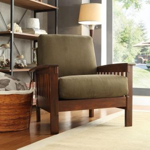Tables and Trolleys Style Oak Sofa/Arm Chair - 1 Piece